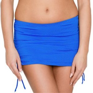 Blue Bay Bikini Skirted Brief With String