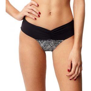 Bikinit   PW PRINT MIAMI BOTTOM - Black