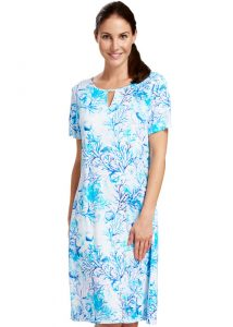 Rosch Great Barrier Reef Short Sleeve Sun Dress