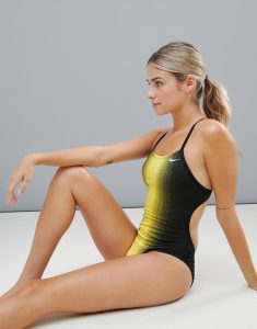 Fade Sting Cut Out Swimsuit - Multi