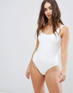 Swimsuit in White - White