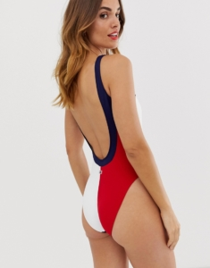 navy blazer swimsuit - Multi
