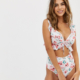 Fuller Bust swimsuit in floral print - Multi