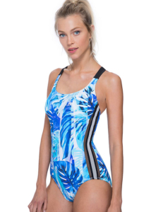 Gottex Free Sport Jungle Fever Racer Back Swimsuit
