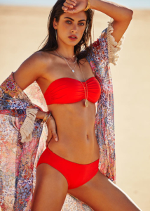 Moontide Contours Ruched Bikini