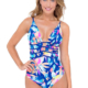 Gottex Profile Cruise Bermuda Breeze Plunge Swimsuit