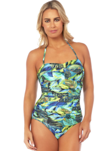 Seaspray Eden Draped Bandeau Swimsuit