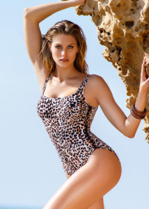Gottex Profile Wild Thing Side Shirred Swimsuit
