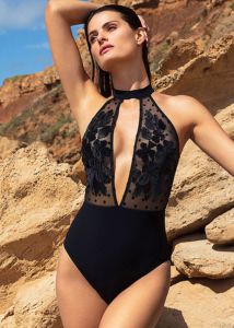 Gottex Couture Carina High Neck Swimsuit