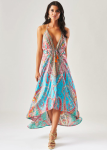 Forever Unique Paisley Zion Sun Dress
