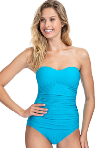 Gottex Profile Ribbons Bandeau Swimsuit